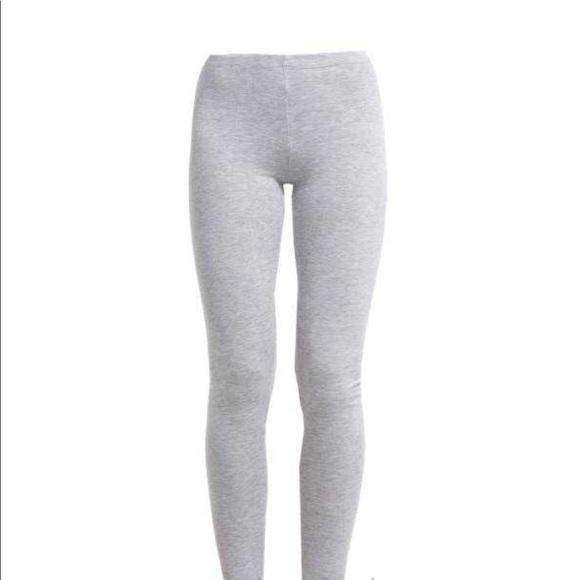 b3808a5b5968d4 Pants | Free With Any Purchase Light Grey Leggings | Poshmark